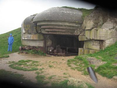Bunker along Courseulles sur Mer - Lydia Osborne
