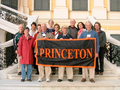 Princeton Group behind Palffy Palace - Livia McCarthy