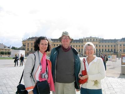 Don, Deneen, and Anke at Palffy Palace - Livia McCarthy