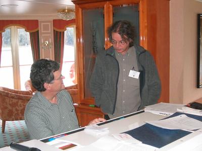 Scott and John at Work - Livia McCarthy