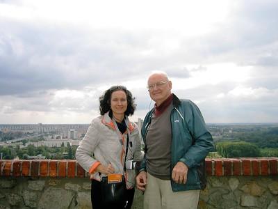 Don and Deneen in Bratislava - Livia McCarthy