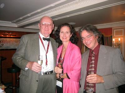 Don, Deneen, and Scott on the last evening on the Casanova - Livia McCarthy