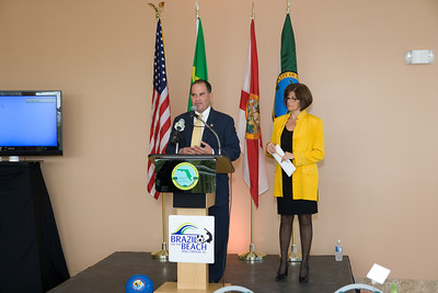 Hollywood CRA Beach District Press Luncheon for Brazil on the Beach 2009