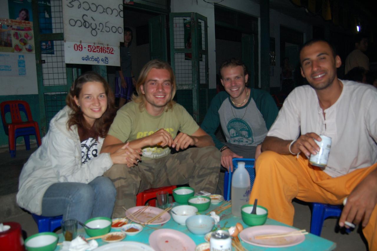 Burma travellers