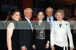 Grausman Family members (L-R): Jennifer Grausman, Richard Grausman, Debra Grausman & Susan Grausman with Stanley Zabar (rear)