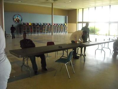 Inside Tables for Eating