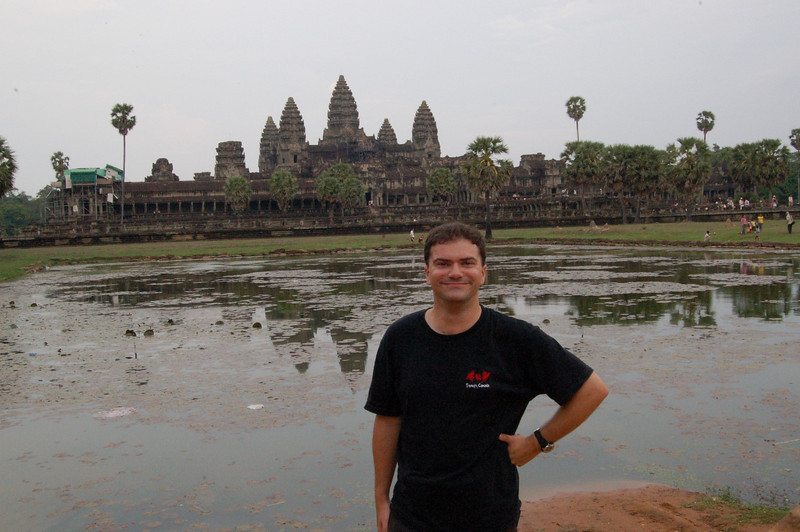 Matt at Angkor Wat