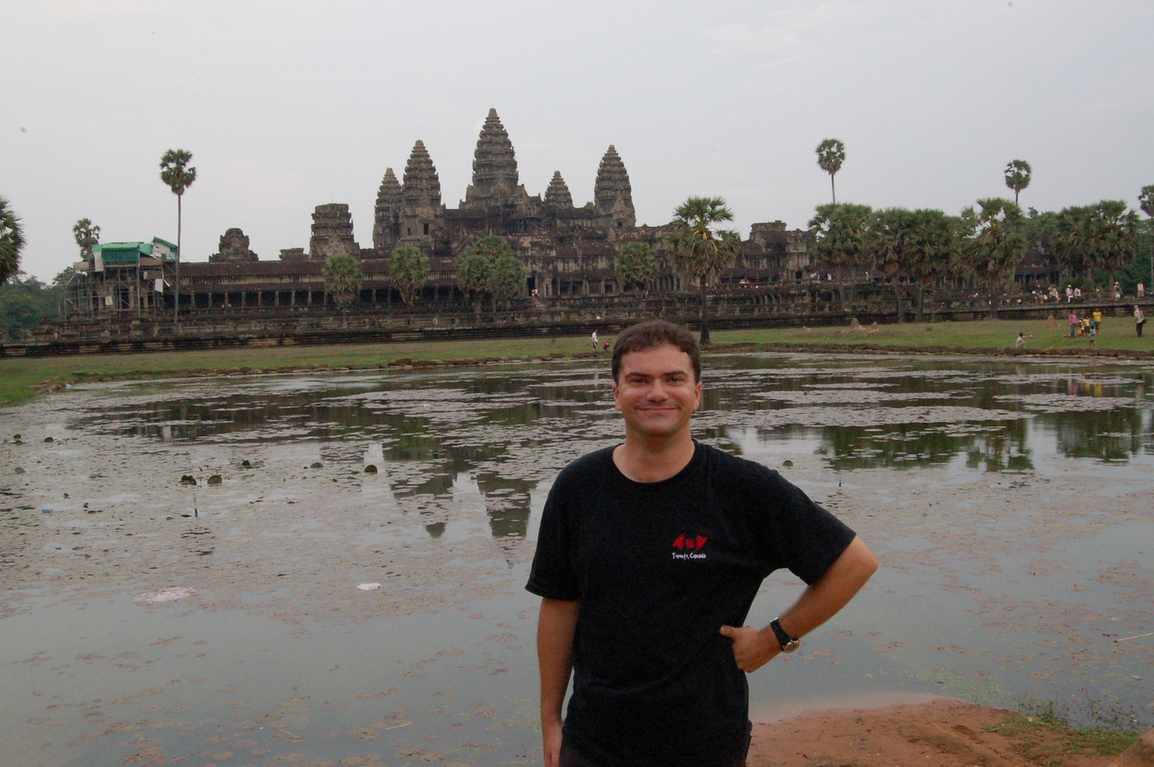 Matt at Angkor Wat