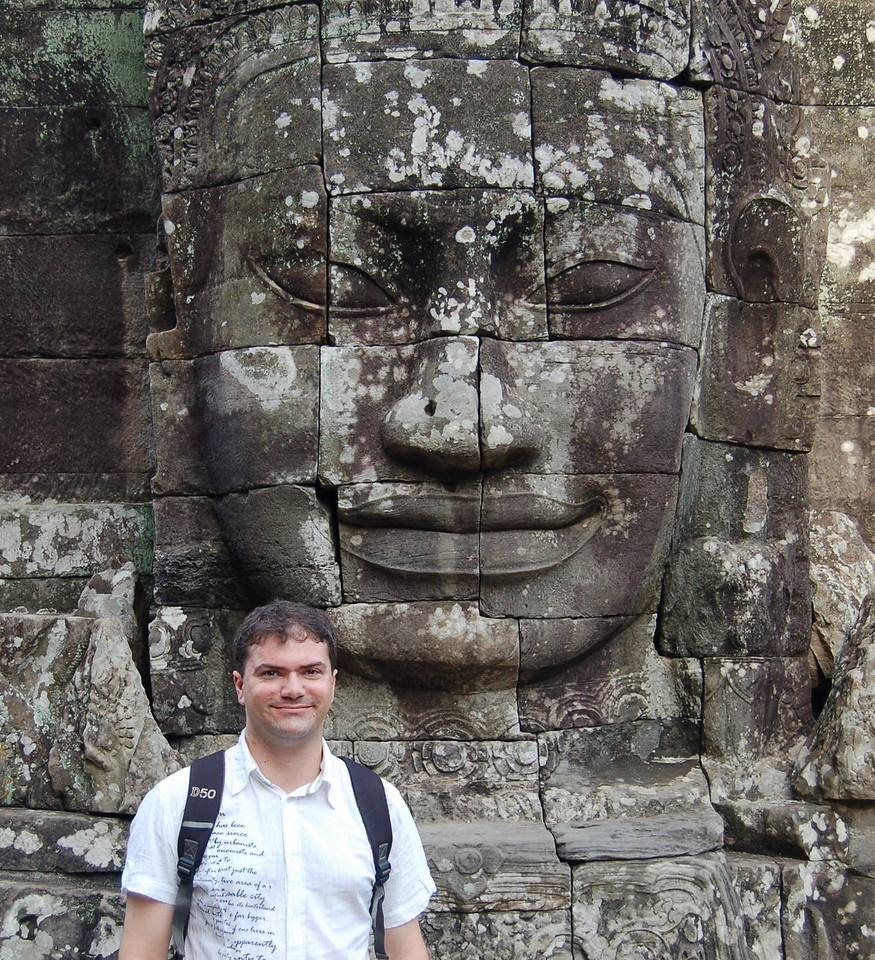 Matt at Bayon