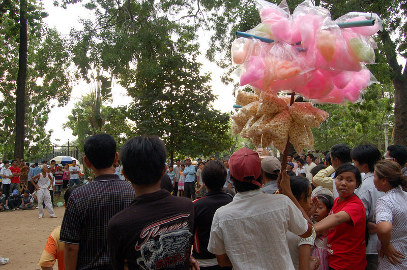 Candyfloss, National Day, Phnom Penh