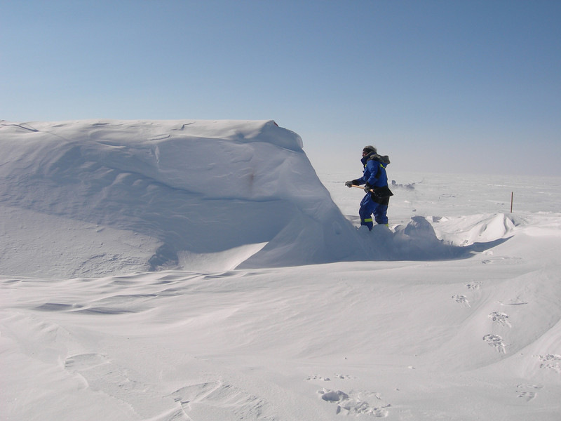 "Car buried in snow after the winter.<br /> <br /> Bil begravet i sne efter vinteren.<br /> <br /> Photo: Jim Hedfors (Swedish Geotechnical Institute), NEEM ice core drilling project,  <a href=""http://www.neem.ku.dk"">http://www.neem.ku.dk</a>"