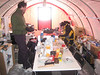 The cooking/dining/working/party area.<br /> <br /> Madlavnings/spise/arbejds/fest-teltet.