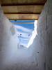 Entrance to drill trench almost ready. <br /> <br /> Indgangen til borehallen næsten færdig.