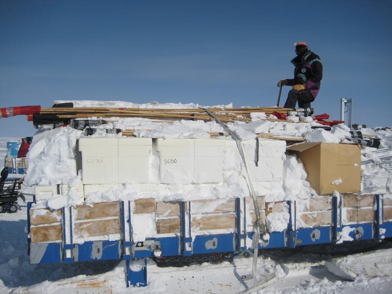 Getting gear out after a long winter. <br /> <br /> Udstyret graves frem efter vinteren.
