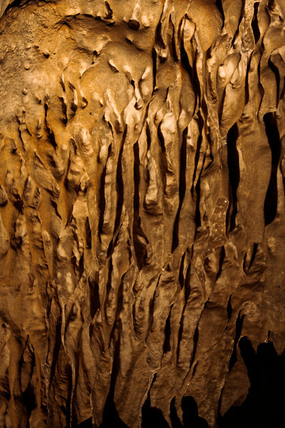 The Carlsbad Caverns are filled with thousands of incredible formations covering every surface with intricate details built up over the ages.