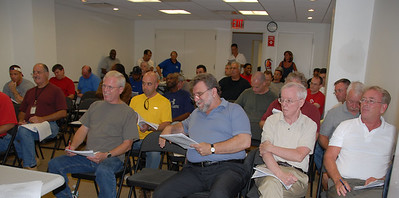 Chief Steward Meeting 8-11-08