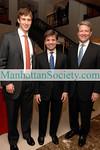 Justin Rockefeller, George Stephanopoulos, David Westin