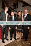 Justin Rockefeller, George Stephanopoulos, Sherrie Rollins Westin, David Westin