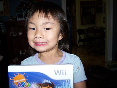 Her own Wii game