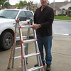 Terry with new ladder