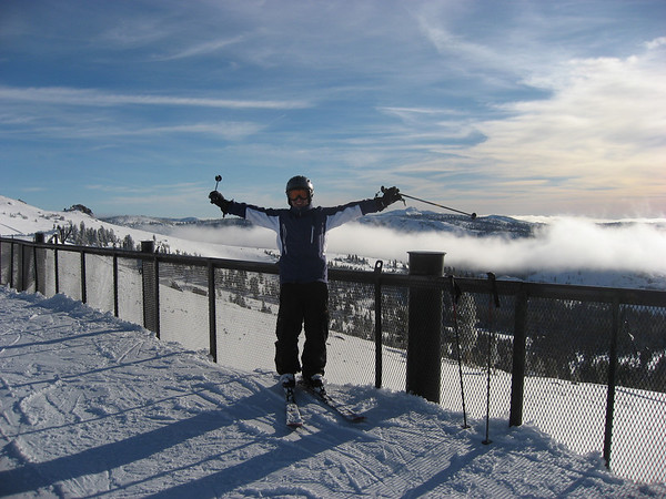 2008; California; Tahoe; Sierra; Sierra Nevada; Mountains; Skiing; Ski; Fun; Athletics; Kirkwood; Kirkwood Ski Resort; Ski Resort; Aaron Meyers; Fog