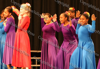 GAMS Dance Ensemble performs during The 15th annual Martin Luther King, Jr Community-Wide Celebration's annual program at Newburgh Free Academy.