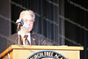City of Newburgh Mayor Nicholas Valentine offers a welcome during The 15th annual Martin Luther King, Jr Community-Wide Celebration's annual program at Newburgh Free Academy.