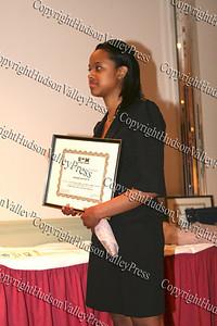 Scholarship award recipient Shiann Mayorga