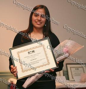 Scholarship award recipient Lia Zelada
