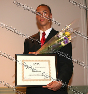 Scholarship award recipient Ramon Santos