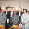 Members of the panel that discussed the Dred Scott case are John F. Murphy III, Gloria J Browne-Marshall, Honorable Peter M. Forman, Raymond Scott Miller, Dr. Edward J. Shaughnessy,and Dr. Elizabeth Johnson, at the Dutchess County Courthouse in Poughkeepsie o April 12, 2008.