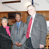 Loraine Roberts, Raymond Scott Miller and The Honorable Peter M. Forman, judge of the Dutchess County Family Court, who presented an overview of the Dred Scott Case and moderated the panel discussion at the Dutchess County Courthouse on April 12, 2008.
