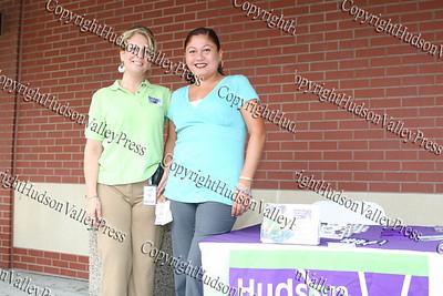 Rosina Tezgeldi and Blanca Colon of Hudson Health Plan