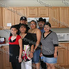 Habitat for Humanity of Greater Newburgh partner family (Cruz) inside their new home (kitchen) prior to the dedication ceremony on Saturday, June 7, 2008.