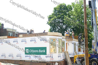 Habitat for Humanity of Greater Newburgh Builder Blitz at 208 & 210 Dubois Street in the City of Newburgh on day 1