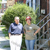 William Kaplan and Jessic Sun on day one of the Builders Blitz