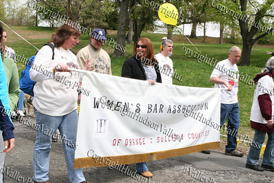 Womens Bar Association walkers participate in the 9th annual Walk for Housing