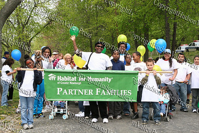 Habitat's partner families begin the annual Walk for Housing