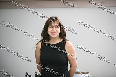 Workshop facilitator Yolanda Perez of the Orange County Employment & Training Administration explores career options based on interest and work values.