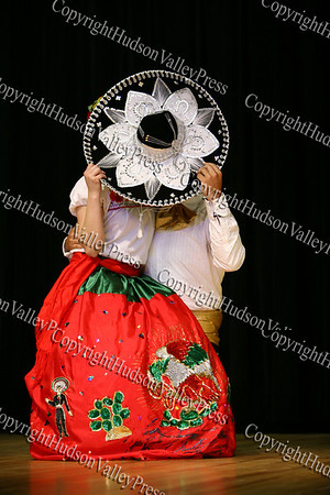 """Grupo Xiochilipi provides entertainment during the """"How to be Proud"""" conference."""