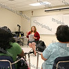 "Workshop facilitator Angie Ramos of Gateway to Entrepreneurial Tomorrows discusses how to start your own business during the ""How to be Proud"" conference."