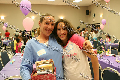 """Rhonda (mother) and Alyssa (daughter) at the """"How to be Proud"""" conference."""