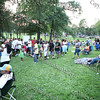 "City of Newburgh Youth Bureau presented the ""Bee Movie"" in Downing Park on Tuesday, July 29, 2008."