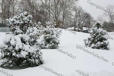 The first major snow storm of the 2008-2009 season, hit on Friday, December 19, 2008, left 10 inches of snow around the Hudson Valley.