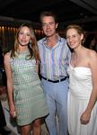 "Samantha Boardman Rosen, Kyle McLaughlin, Celerie Kemble attend  ""Crème de la Crème"" -- Citymeals-on-Wheels Chefs' Tribute fundraiser at Rockefeller Center in New York City on Tuesday, June 16, 2008"