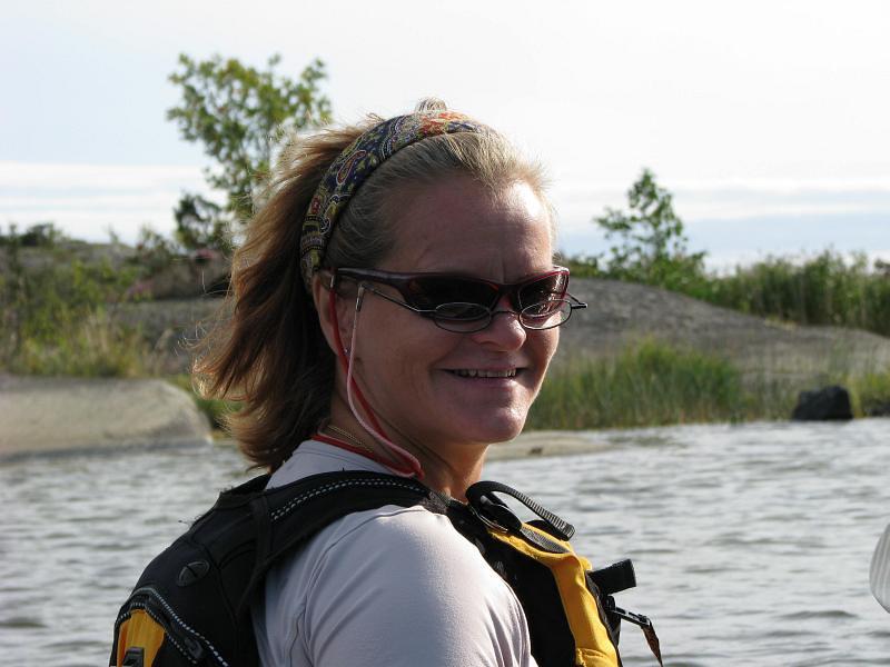 Ewa ledare med dubbla glasögon