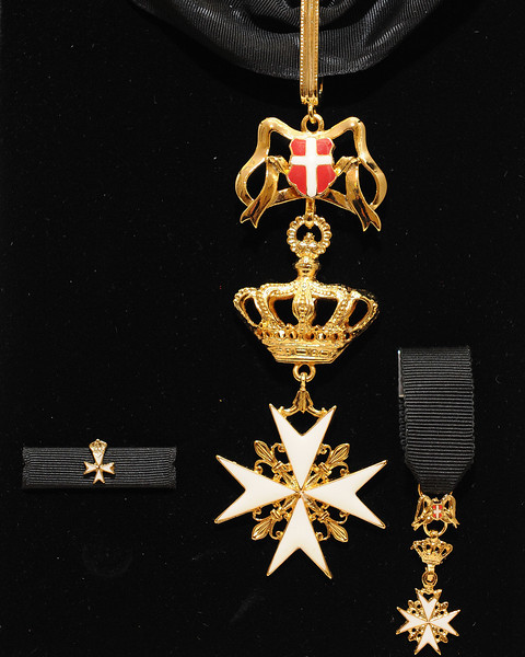 """Dan Negrea Investiture as Knight of Malta"""