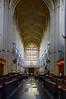 Bath Abbey nave, Bath, England