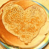Pancake - heart