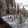 Holiday detail: Detail photo of holiday scene in a home on south seventh street during the Holiday Home Tour.